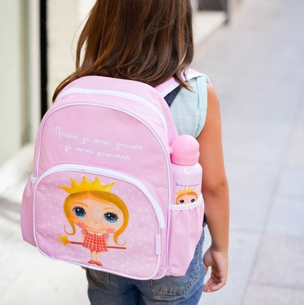 sac a dos cartable princesse